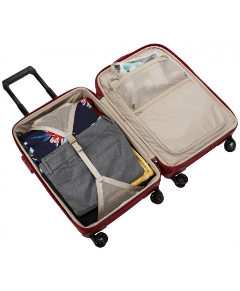 Чемодан на колесах Thule Spira Carry-On Spinner with Shoe Bag 35L (Rio Red)