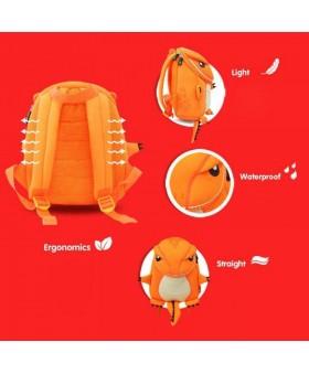 Рюкзак детский Большой Оранжевый Динозаврик
