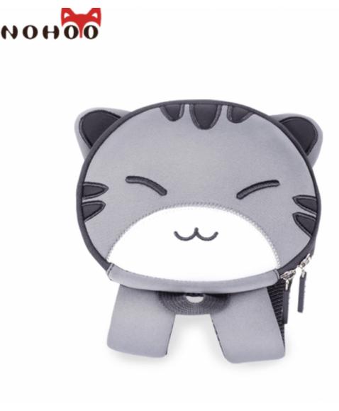 Рюкзак детский Серый Котик Большой