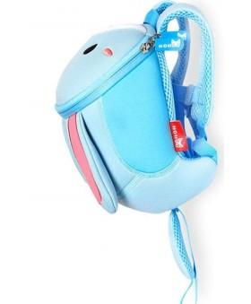 Рюкзак детский Зайка Средний Голубой