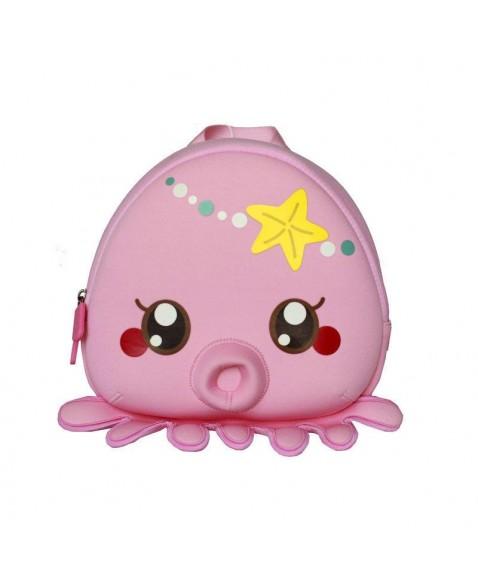 Рюкзак детский Розовая Осьминожка