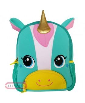 Рюкзак детский Единорог Голубой