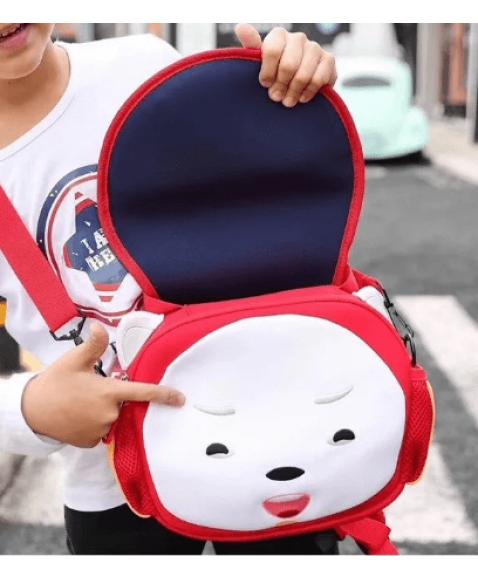 Сумка - рюкзак детская Супер Соник красный