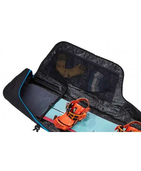 Чехол с колесами Thule RoundTrip Snowboard Roller 165cm (Black-Blue)
