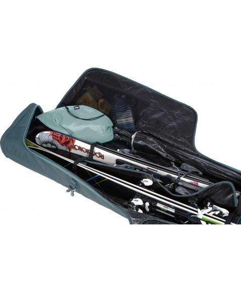Чехол на колесах для лыж Thule RoundTrip Ski Roller 192cm (Dark Slate)