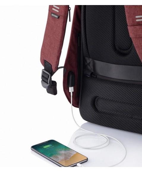 Рюкзак антивор XD Design Bobby Hero Small, красный
