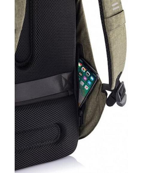 Рюкзак антивор XD Design Bobby Hero, зеленый