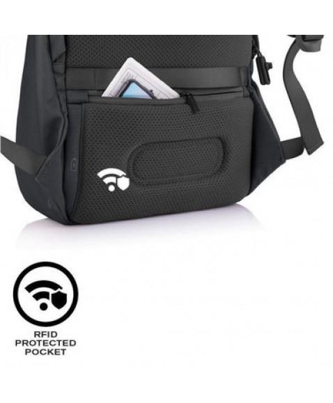 Рюкзак антивор XD Design Bobby Soft Anti-Theft, Черный