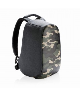 Рюкзак антивор XD Design Bobby Compact Camouflage, зеленый