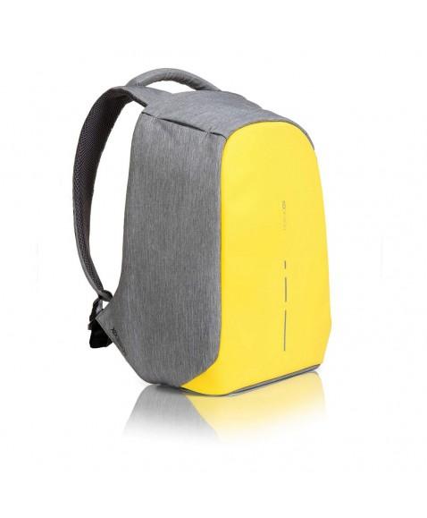 Рюкзак антивор XD Design Bobby Compact, желтый