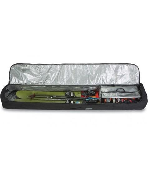 Чехол для лыж на колесах Dakine FALL LINE SKI ROLLER BAG 190 dark olive/dark rose