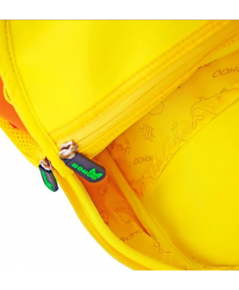 Рюкзак детский Желтый Шипастик