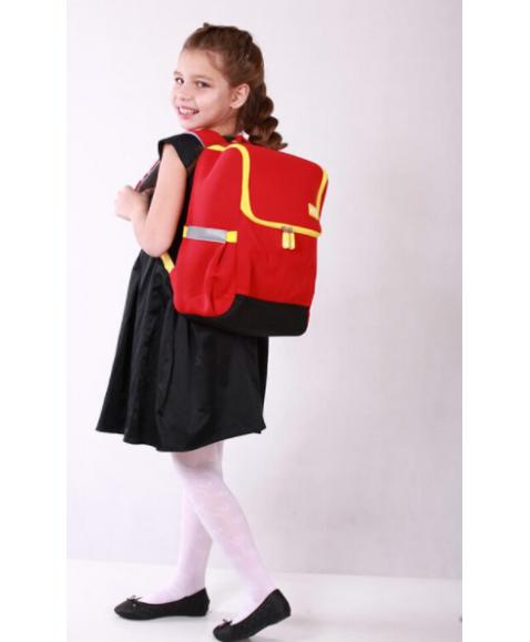 Рюкзак школьный Красный