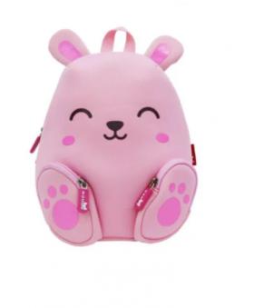 Рюкзак детский Nohoo Веселый Заяц Розовый
