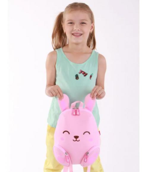 Рюкзак детский Веселый Заяц Розовый