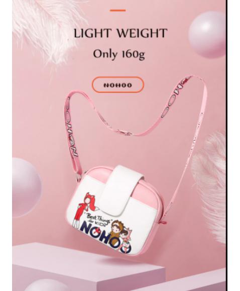 Детская сумочка Nohoo На Стиле Розовая