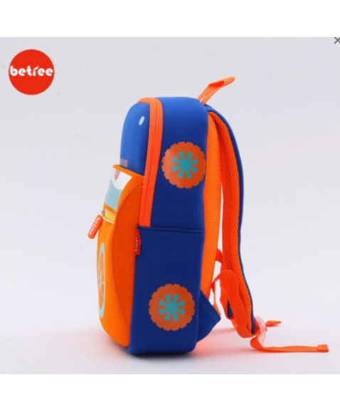 Рюкзак Betree синяя машинка
