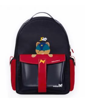 Рюкзак школьный Nohoo Ракета Черный