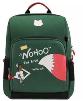 Школьный ранец Nohoo Класс Лисенок Зеленый