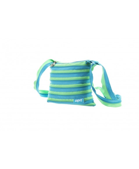 Сумка ZIPIT Medium Turquise Blue&Spring Green