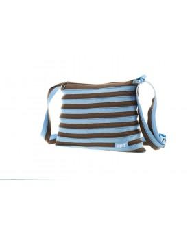 Сумка ZIPIT Medium Ocean Blue&Soft Brown