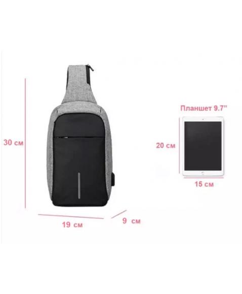 Рюкзак с одной лямкой MARK RYDEN MR5898 Mini bobby Gray