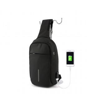 Рюкзак с одной лямкой MARK RYDEN MR5898 Mini bobby Black