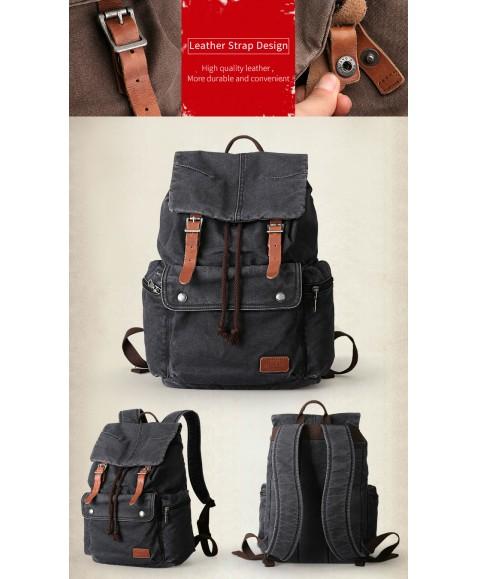 Рюкзак MUZEE ME1693 Black