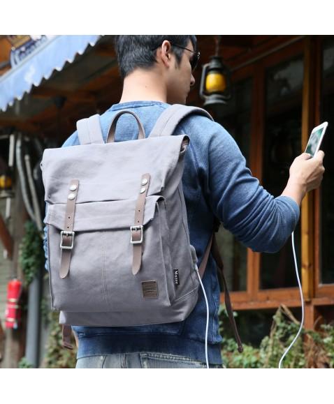 Рюкзак MUZEE ME1655 Gray