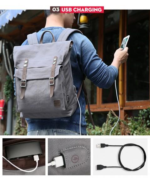 Рюкзак MUZEE ME1655 Dark Blue