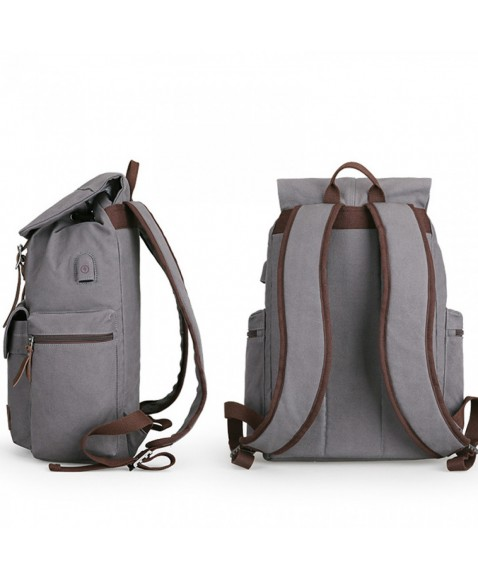 Рюкзак MUZEE ME1729 Gray