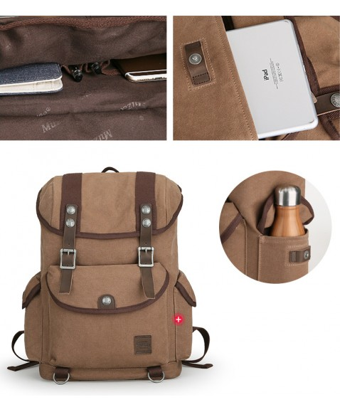 Рюкзак MUZEE ME1672 Gray