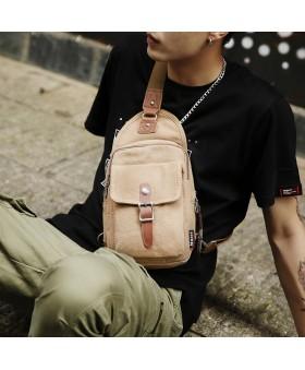 Рюкзак с одной лямкой MUZEE ME1077 Khaki