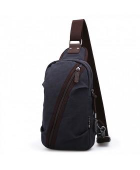 Рюкзак с одной лямкой MUZEE ME081 Dark Blue