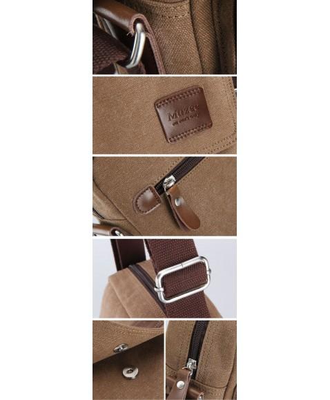 Cумка через плечо MUZEE ME1426 Khaki