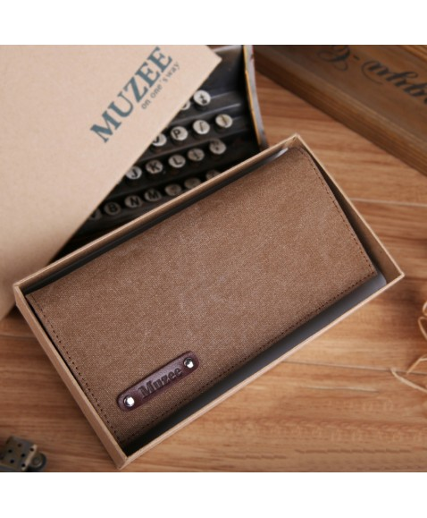 Кошелек MUZEE ME1006 Coffee