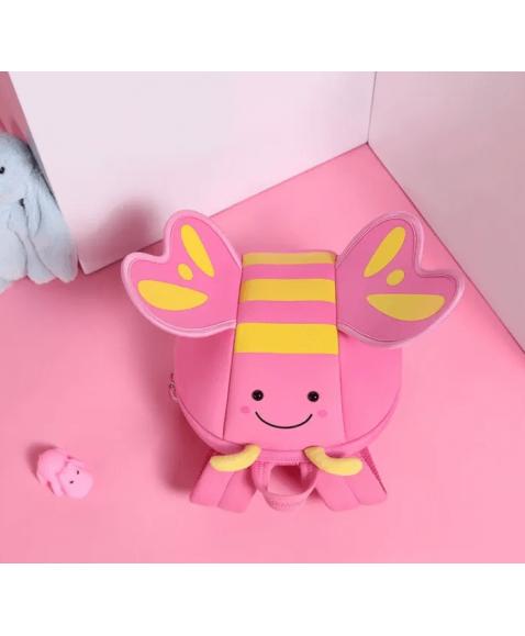 Детский рюкзак Nohoo Бабочка Розовая