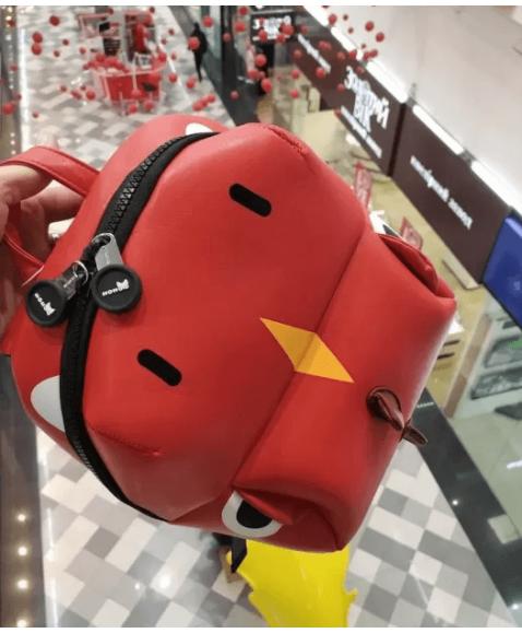 Детский рюкзак Nohoo Дракон Красный