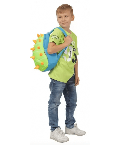 Детский рюкзак Nohoo Зелёный Шипастик