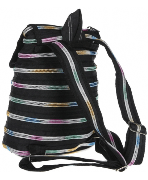 Рюкзак детский ZIPIT ZIPPER Black & Rainbow Teeth