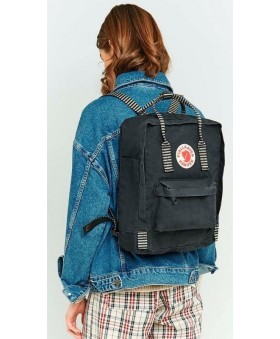 Рюкзак Fjallraven Kanken 16L Black/Striped