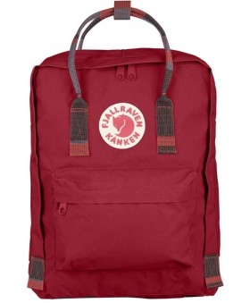 Рюкзак Fjallraven Kanken 16L Deep Red/Random Blocked