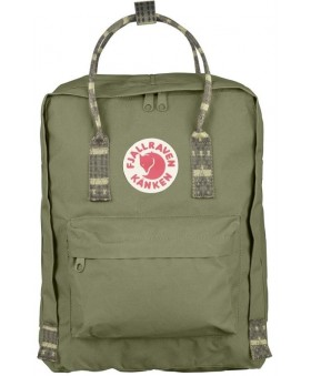 Рюкзак Fjallraven Kanken 16L Green/Folk Pattern