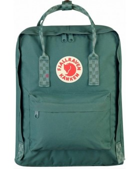 Рюкзак Fjallraven Kanken 16L Frost Green/Chess Pattern
