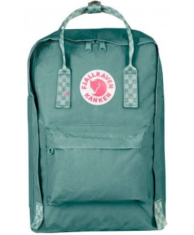 Рюкзак Fjallraven Kanken Laptop 15 Frost Green/Chess Pattern