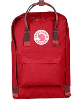 Рюкзак Fjallraven Kanken Laptop 15 Deep Red/Random Blocked