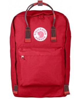 Рюкзак Fjallraven Kanken Laptop 17 Deep Red/Random Blocked