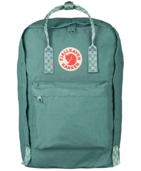 Рюкзак Fjallraven Kanken Laptop 17 Frost Green/Chess Pattern
