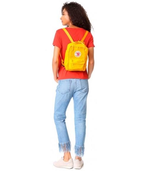 Рюкзак Fjallraven Kanken Mini 7L Warm Yellow