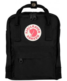 Рюкзак Fjallraven Kanken Mini 7L Black